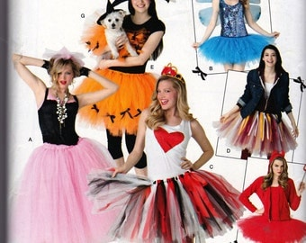 New Simplicity MISSES COSTUMES  + DOGGY Fantasy Costumes Pattern 0212-2074 Misses One Size  Uncut Factory Folded