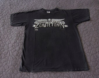 1992 Chopper Chicks In Zombietown shirt - Original film - Troma Pictures horror movie T-shirt - L