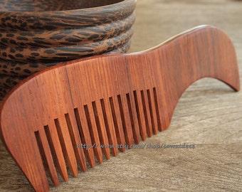 5.6 inch Siamese Redwood Comb