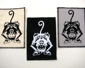 One aloha monkey patch in any color you choose....FREE SHIPPING USA