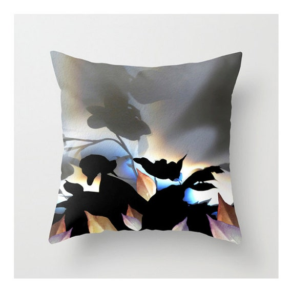 Zen Throw Pillows : Zen Throw Pillow Cover 16x16 18x18 20x20 Abstract Tropical