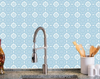 Removable Wallpaper Tiles removable wallpaper victoria tile peel & stick self adhesive