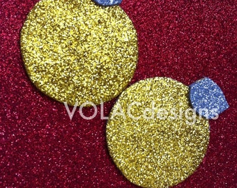 Christmas holiday ornament glitter pasties