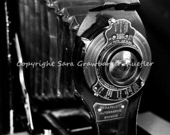 "Vintage Camera Photograph - 8 x 10"" Print - Vintage Decor"