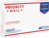 Priority Mail Shipping Upgrade, US Only