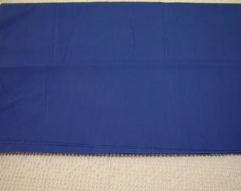 "Brand New Royal Blue Cotton/Poly Blend Fabric 36"" x 44"""