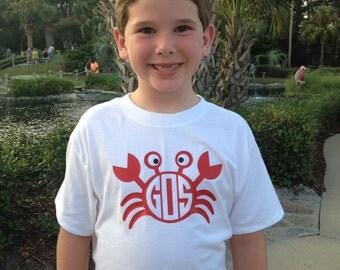 Crabby Monogram shirt