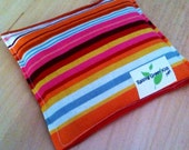 Owie bags, Ouchie Bags, Natural Hot/Cold Therapy Packs Organic Flaxseed filled striped red pink black blue orange