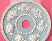 Bubbly Fish Children's Ceiling Medallion