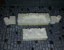 Hirst Arts - Dwarven Forge - D & D - Dungeon Cave Furniture - Cast in resin