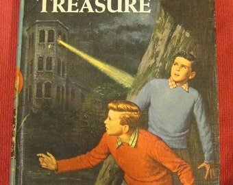Hardy Boys The Tower Treasure #1 1959 Franklin W Dixon,