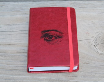 I'm Watching You! Human Eye Journal Sketch Book Diary Planner