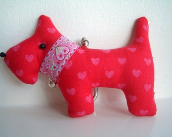 Gift, Scottie Dog Keyrings, Bag Charms - perfect present for Dog lovers.
