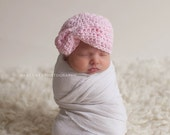 baby girl hat, newborn girl hat, crochet girls hat, girls hat, newborn girls hat, little girl hat, hat with bow