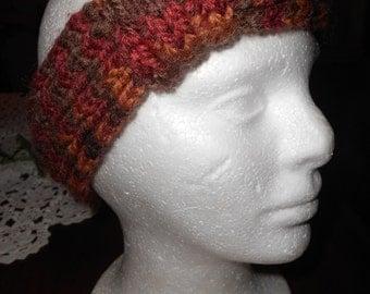 Variegated Brown Headband  NEW MARK DOWN