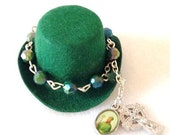 St Partick Bracelet Hat Clip.... Newborn thru Adults, Photo Prop, St. Patrick's Day, St. Paddy Day Accessory, Irish Pride Jewelry,