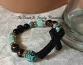 SALE Church Girl (1 stretch bracelet) gold heart bracelet NOT included