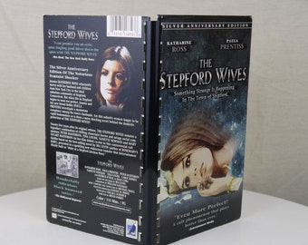 Handmade Stepford Wives 1974 Movie Re-purposed VHS Cover Notebook Journal
