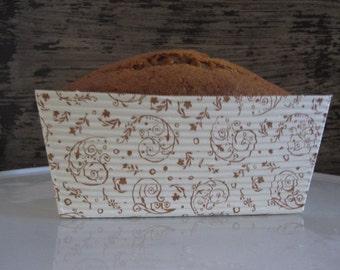 Paper Baking Loaf Pans ~ Mini or Regular ~ Set of 5 ~ Bake and Take