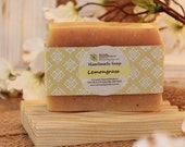 Lemongrass Handmade Soap,100% Natural Soap, Essential Oil Soap, Cold Process Soap