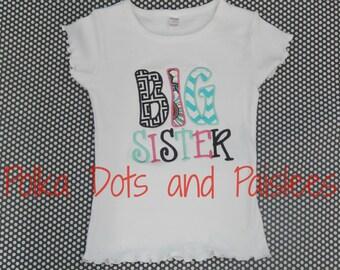 Custom Big Sister Shirt