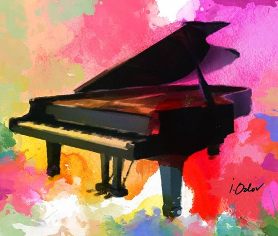 abstract piano art wallpaper - photo #22