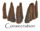Consecration Artisan Hand Made Incense Cones