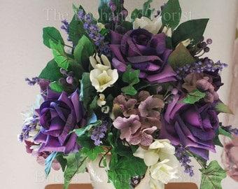 Silk Arrangement, Tuscan Floral Arrangement, Table Top Arrangement, Flower Arrangement