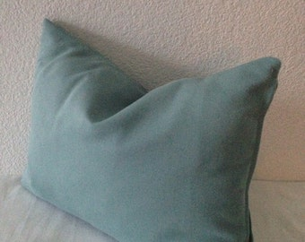 Blue Pillow Cover - Free US Shipping - Blue Home Decor Fabric