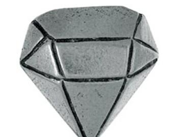 Diamond Lapel Pin - CC532- Diamond, Gemstone, Carbon, Treasure, Jewel