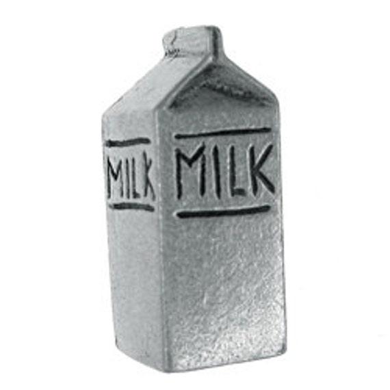 1/2 Gallon of Milk Lapel Pin - CC348