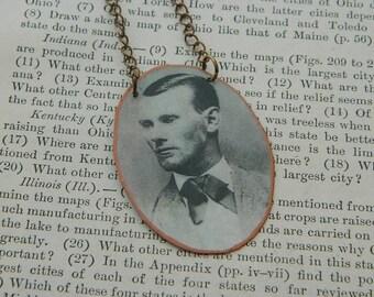 Jesse James necklace Western jewelry mixed media jewelry