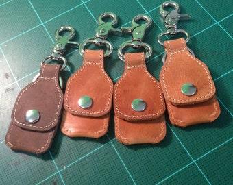 Guitar Pick  Case  Key Ring  / Micro SD Card Case Key Ring