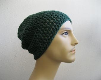 Crochet Beanie - Slouchy Beanie - Beanie Hat - Crochet Slouchy Beanie - Winter Hats - Beanies - Mens Hat - Mens Beanie - Slouchy Beanie Hat