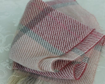 Vintage Woven Warm Neck Scarf  Plaid