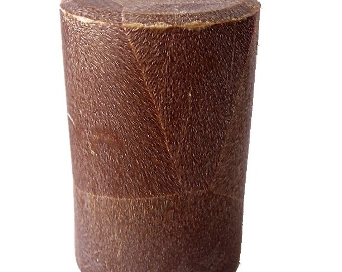 Mahogany Spice Scented Pillar Candle