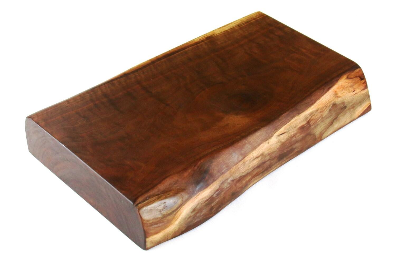 thick walnut butcher block wood cutting board by farmtimbers