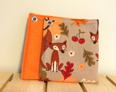 Foxes in Fall Small Animal Hammock