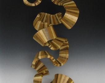 Abstract Wood Sculpture   Wood Sculpture  Art sculpture