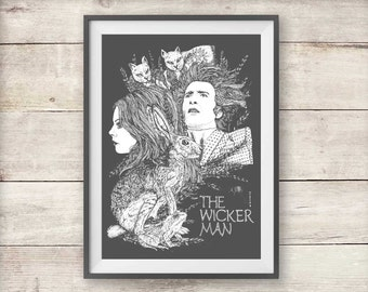 The Wicker Man Print