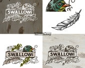 Hand lettered and Illustrated logo for your business - stand out from the rest
