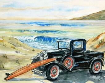 Home Decor - Beach Buggy - art print