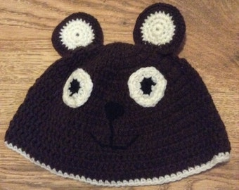 Bear Beanie - Photo Prop - Made To Order