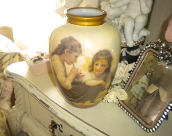 Lovely Vintage House of LLoyd Vase, French, French Country, Eclectic