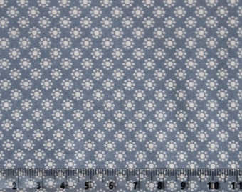 Tilda Fabric Nina Slate Blue Sold by the Half Metre - UK Shop - Craft Supplies