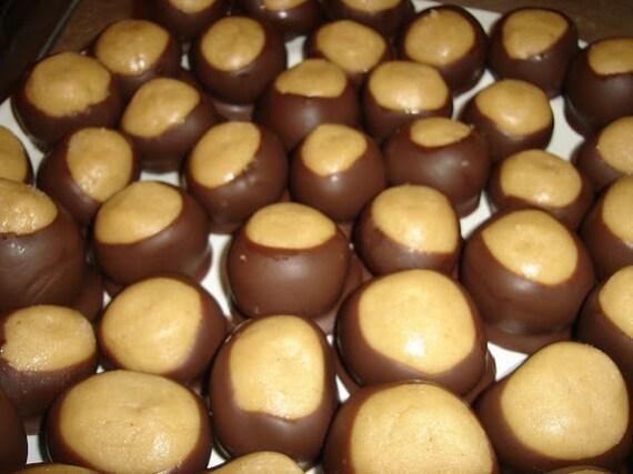 Homemade Buckeye Candy/Peanut Butter