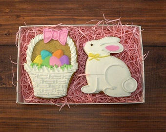 Decorated Cookies - Easter - Gift Box