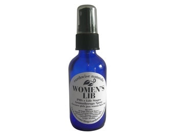 WOMENS LIB (Tm) | PMS + Life Stages Organic Aromatherapy Spray for Women & Girls | 2 oz