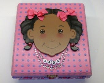 Personalized Keepsake Box / Memory Box  /  Treasure Box
