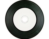 Sets of Vinyl CDs - Blank CD Retro Record Album | Music, Photography or File Delivery | Choose Sets of 5, 10, 25, 50, 75, 100